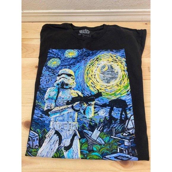 Star Wars Fifth Sun Van Gough TShirt L